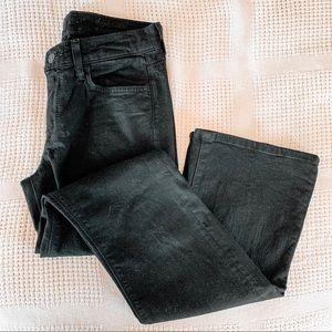 7 FAM | Black High Waisted Bootcut Jeans Sz 27